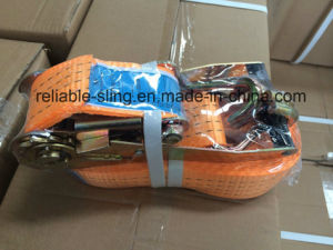 Ratchet Tie Down Strap/Lashing Tie Down Strap/Ratchet Tie Down Strap Factory pictures & photos