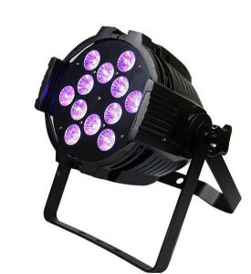 12X15W Aluminum PAR LED Rgbawuv for Wedding Club Decoration