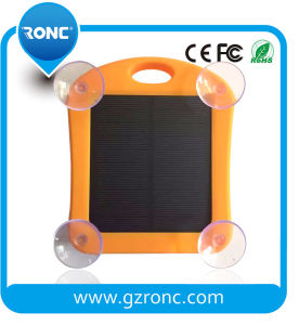 Waterproof Solar Charger with LED Lieght for Mobile Phone pictures & photos