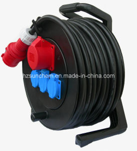 Industrial Use Power Extension Retractable Cable Reel