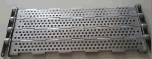 Plate Conveyor Belt for Hot Treatment, Food Processing Equipment pictures & photos