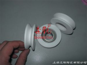Ceramic Roller Pulley with Bearing pictures & photos