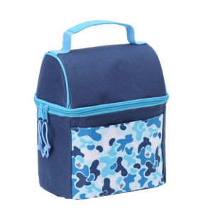 Double Layer Cooler Bag for Outdoor Picnic pictures & photos