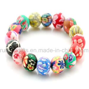Wholesale Polymer Clay Beads Bracelet, Ceramic Bracelet pictures & photos
