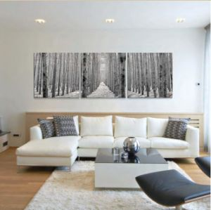 Living Room Interior Wall Decorative Glass Painting Natural Scenery pictures & photos