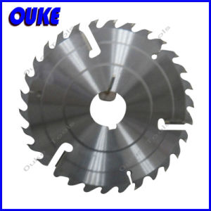 Multi Rip Wood Saw Blade with Carbide Wipers pictures & photos