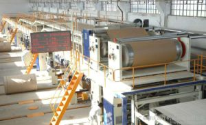 Automatic 5 Layers Corrugated Paper Production Line