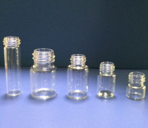 Screwed Mini Glass Vial for Medical and Cosmetical Packing