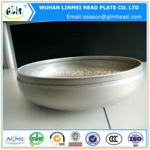 High Quality Aluminium Pipe End Cap Dished Ends Bottle Cap pictures & photos
