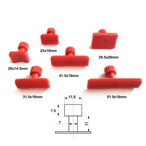 Dent Removal Repair Tool Paintless Kits Glue Puller Sets Tabs Glue Tabs