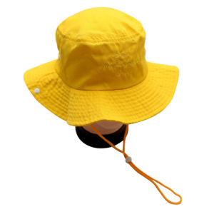 China Wholesale Custom Outdoor Bucket Hat With String China Bucket