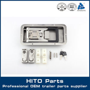 Semi Trailer Cargo Truck Trailer Door Lock Hand Lock, Truck Body Parts,  Spare Parts Made in China