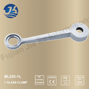 Shower Room Accessory Stainless Steel Glass Clamp (Bl205-1L)