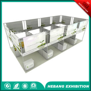 Hb-L00040 3X3 Aluminum Exhibition Booth pictures & photos