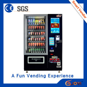 Hot Sales in 2016, Drink Vending Machine with Refrigerator