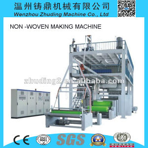 3.2m Ss High Output Non Woven Fabric Production Line Equipment Machine pictures & photos