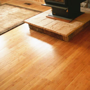 Solid Bamboo Flooring Carbonized Horizontal UV Lacquer Smooth pictures & photos