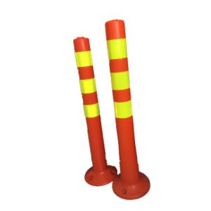 Safety Products Red, Yellow, Orange PU Flexible Post pictures & photos