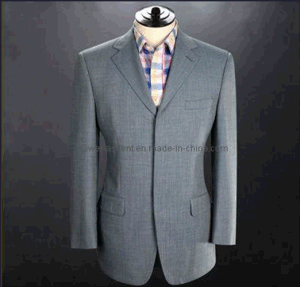 Wholesale OEM Top Quality Men′s Fashion Suit Jacket pictures & photos