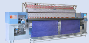 Garment Machinery-Computerized Quilting and Embroidery Machine pictures & photos