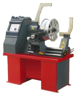 Rim Straightening Machine with Lathe pictures & photos