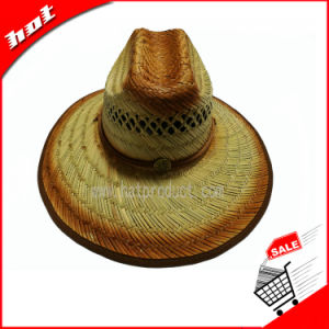 Printed Sun Hat Hollow Straw Hat Natural Grass pictures & photos