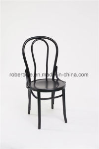 Factory Price Wood Thonet Chair, Stackable Bentwood Chair pictures & photos