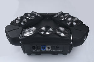 Disco Stage Bar DJ 9*12W RGBW 4in1 LED Beam Moving Head Light pictures & photos