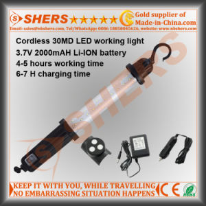 Rechargeable Cordless 30 SMD LED Working Light