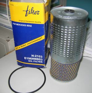 Oil Filter E196hnd03 H2103 for Mercedes-Benz pictures & photos