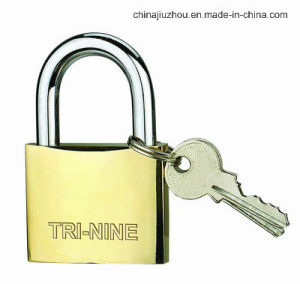 20mm Thick Type Brass Padlock (SAND Polish, SUPER Polish) 261 pictures & photos