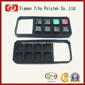 Customized Black Rubber Silicone Keypad/Rubber Cap/Rubber Button pictures & photos