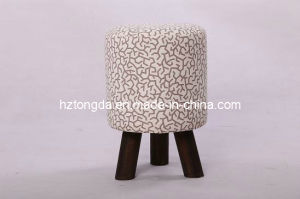 Upholstered Low Stool (501B)