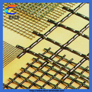 China Supplier Crimped Wire Mesh (ISO 9001) pictures & photos