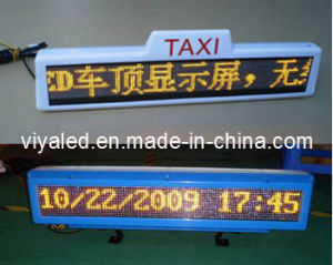 LED Sign for Taxi Top Use (VY-Z128T)