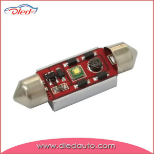White CREE R2 Canbus Festoon 36mm LED Decoding Car Lamp
