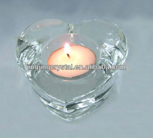 Crystal Heart Candle Holder with Higher Quality pictures & photos