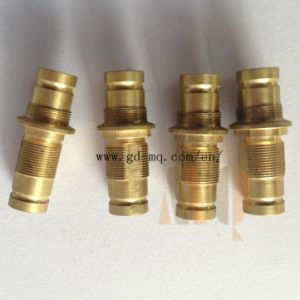 Brass CNC Lathe Turning Part (MQ1033) pictures & photos