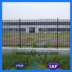 Hot Sale Galvanized Steel Spear Top Fence Panel