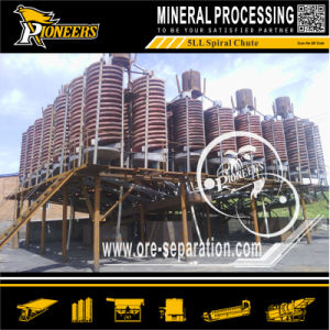 Complete Gravity Concentration Mining Beneficiation Line of Gold Chrome Antimony