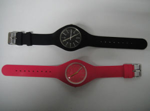 Plastic Cement Rubber Simple Environmental Protection Colorful Watch pictures & photos