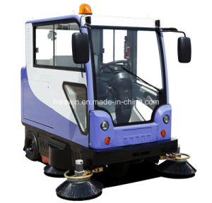 All Closed Electric Road Ride on Sweeper Machine pictures & photos