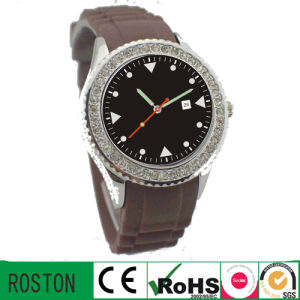 Water Resistant Controlled Quality Silicon Strap Promotion Watch