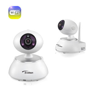 1 Megapixel 720p Night Vision Baby Monitor with PTZ Service and IR-Cut (Q1)