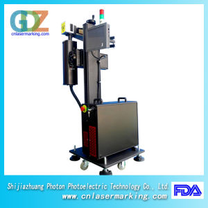 30W Fiber Laser Marking Machine with Ipg Laser for Pipe, Plastic, PVC, PE and Non-Metal