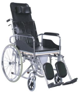 Folding / Powder Coating Steel / Light Weight Wheelchair pictures & photos