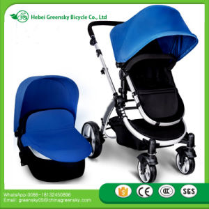 2016 New Fashion High Landscope Baby Stroller + Car Seat pictures & photos