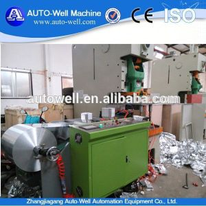 Aluminum Foil Tray Machine with 45 T Punching Machine pictures & photos