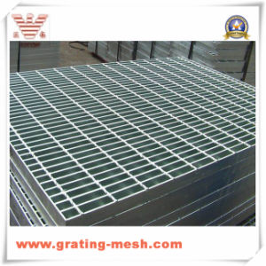 Metal/ Galvanized/ Steel Grating for Stair Treads (ISO)