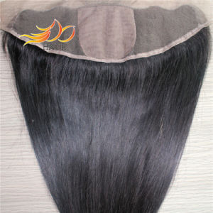 Silk Base 100% Indian Virgin Remy Human Hair Lace Frontal pictures & photos
